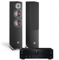 Onkyo A-9150 Amplifier w/ Dali Oberon 5 Speakers