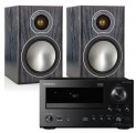 Onkyo CR-N765 w/ Monitor Audio Bronze 1 Speakers