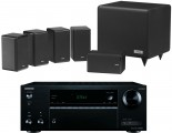 Onkyo TX-NR555 AV Receiver w/ Tannoy HTS101 XP Speaker Package 5.1