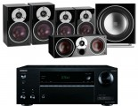 Onkyo TX-NR555 AV Receiver w/ Dali Zensor 3 Speaker Package 5.1