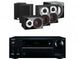 Onkyo TX-NR555 AV Receiver w/ Dali Zensor Pico Speaker Package 5.1