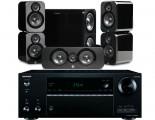 Onkyo TX-NR656 AV Receiver w/ Q Acoustics 3000 Speaker Package 5.1