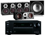 Onkyo TX-NR676E AV Receiver w/ Dali Zensor 1 Speaker Package 5.1