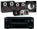 Onkyo TX-NR676E AV Receiver w/ Dali Zensor 3 Speaker Package 5.1