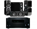 Onkyo TX-RZ820 AV Receiver w/ Q Acoustics 3000 Speaker Package 5.1