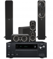Onkyo TX-RZ840 AV Receiver w/ Q Acoustics 3050i Speaker Package 5.1