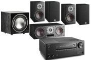 Onkyo TX-NR686 AV Receiver w/ Dali Oberon 1 5.1 Speaker Package