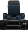 Onkyo TX-SR494 AV Receiver w/ Monitor Audio MASS Gen2 Speaker Package 5.1