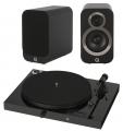 Pro-Ject Juke box E w/ Q Acoustics 3030i Speakers