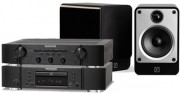 Marantz PM6006 Amplifier & CD6006 CD Player & Q Acoustics Concept 20 Speakers