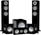 Monitor Audio Silver 200 AV12 Floorstanding Speaker Package