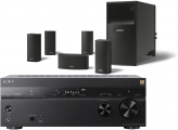 Sony STR-DN1080 AV Receiver w/ Bose Acoustimass 10 V Speaker Package 5.1
