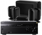 Sony STR-DN1080 AV Receiver w/ Q Acoustics 7000i Slim Speaker Package