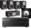 Sony STR-DN1080 AV Receiver w/ Dali Spektor 2 Speaker Package 5.1