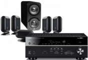 Yamaha RX-V685 AV Receiver w/ Q Acoustics 7000i PLUS Speaker Package 5.1