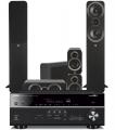 Yamaha RX-V685 AV Receiver w/ Q Acoustics 3050i Floorstanding Cinema Pack 5.1