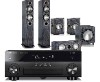 Yamaha RX-A670 AV Receiver w/ Monitor Audio Bronze 5 Speaker Package 5.1