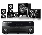 Yamaha RX-A660 AV Receiver w/ Wharfedale DX-1SE Speaker Package 5.1