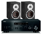 Yamaha R-N402D Network Receiver w/ Dali Spektor 2 Speakers