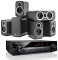 Yamaha RX-S602 AV Receiver w/ Q Acoustics 3010i Cinema Pack 5.1