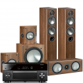 Yamaha RX-A3080 AV Receiver w/ Monitor Audio Bronze 5 5.1 Speaker Package