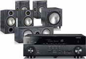 Yamaha RX-A670 AV Receiver w/ Monitor Audio Bronze 2 Speaker Package 5.1