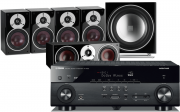 Yamaha RX-A670 AV Receiver w/ Dali Zensor 5 Speaker Package (5.1)