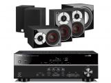 Yamaha RX-V381 AV Receiver w/ Dali Zensor Pico Speaker Package 5.1