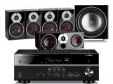 Yamaha RX-V581 AV Receiver w/ Dali Zensor 1 Speaker Package 5.1