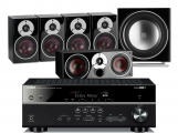 Yamaha RX-V583 AV Receiver w/ Dali Zensor 1 Speaker Package 5.1