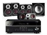Yamaha RX-V581 AV Receiver w/ Dali Zensor 3 Speaker Package 5.1