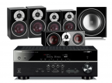 Yamaha RX-V583 AV Receiver w/ Dali Zensor 3 Speaker Package 5.1