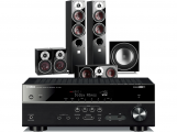 Yamaha RX-V583 AV Receiver w/ Dali Zensor 5 Speaker Package 5.1