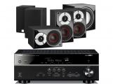 Yamaha RX-V481 AV Receiver  w/ Dali Zensor Pico Speaker Package 5.1