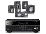 Yamaha RX-V581 w/ Monitor Audio Bronze 1 Speaker Package 5.1