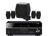 Yamaha RX-V681 AV Receiver w/ Monitor Audio MASS Speaker Package 5.1