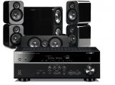 Yamaha RX-V681 AV Receiver w/ Q Acoustics 3000 Speaker Package 5.1