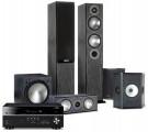 Yamaha RX-V685 AV Receiver w/ Monitor Audio Bronze B5 Speaker Package 5.1