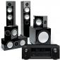 Denon AVR-X3300W w/ Monitor Audio Silver 6 (5.1)