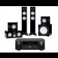 Denon AVC-X6700H AV Receiver w/ Monitor Audio Silver 200 7G Speaker Package