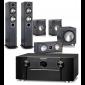 Marantz SR7012 AV Receiver w/ Monitor Audio Bronze 5 Speaker Package