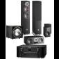 Marantz SR8015 AV Receiver w/ Dali Oberon 5 5.1 Speaker Package