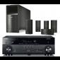 Yamaha RX-A670 AV Receiver w/ Bose Acoustimass 10 Series V Speaker Package (AM10)