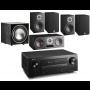 Denon AVR-X3600H AV Receiver w/ Dali Oberon 1 5.1 Speaker Package
