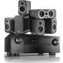 Denon AVR-X3600H AV Receiver w/ Q Acoustics 3010i 5.1 Cinema Pack
