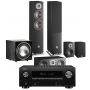 Denon AVR-X3600H AV Receiver w/ Dali Oberon 5 5.1 Speaker Package