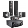 Denon AVC-X6500H AV Receiver w/ Dali Oberon 5 5.1 Speaker Package