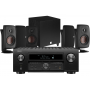 Denon AVC-X6500H AV Receiver w/ Dali Fazon 3 Speaker Package