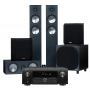 Denon AVC-X4700H AV Receiver w/ Monitor Audio Bronze 200 Speaker Package 5.1