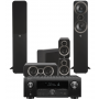 Denon AVC-X4700H AV Receiver w/ Q Acoustics 3050i Speaker Package 5.1